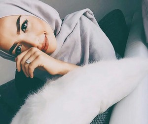 fashion, hijab, and girl image