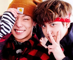 Ikon, bobby, and chanwoo image