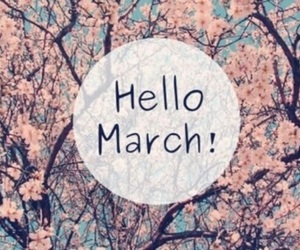 march, spring, and hello image