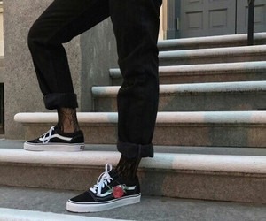 fashion, vans, and aesthetic image