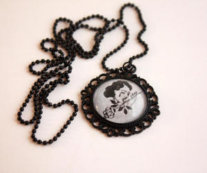 black, cameo, and etsy image
