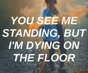 aesthetic, demi lovato, and lyrics quotes image