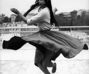 claudia cardinale and happy image