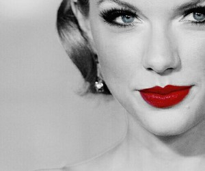 girl, red, and Swift image