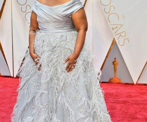 diamonds, octavia spencer, and Marchesa image