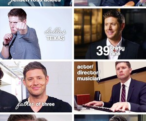 supernatural, happy birthday, and Jensen Ackles image