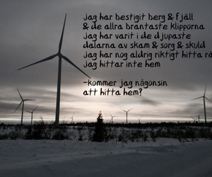 quotes, svenska, and vilse image