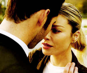 couple, lucifer, and lauren german image