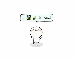 cute, quotes, and bee image