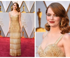 celebrities, emma stone, and red carpet image
