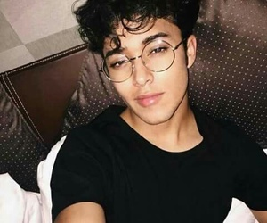 boys, glasses, and perfect image