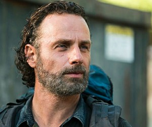 men, andrew lincoln, and series image