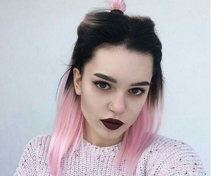alternative, pink, and hair image