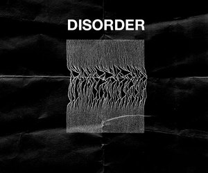 joy division, disorder, and music image