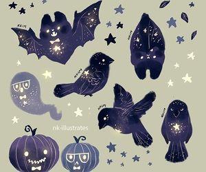 artwork, bat, and illustration image