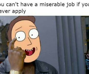 funny, memes, and rick and morty image