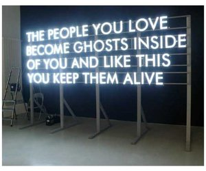 ghost, quotes, and love image