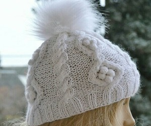 winter hat, warm hat, and knitted cap image