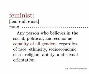 feminism, feminist, and girl image