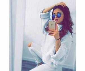 girl, fashion, and snap image