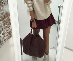 style, bag, and outfit image