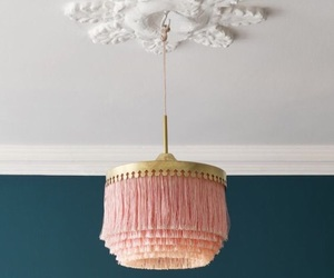 lamp, lovely, and pink image
