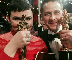 oscar, josh dallas, and ginnifer goodwin image