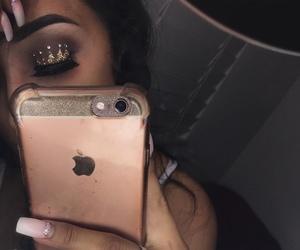 crown, nail, and selfie image