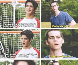 brother, scott, and teenwolf image