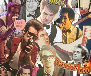 panic! at the disco, band, and brendon urie image