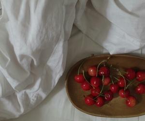 cherries, dessert, and food image