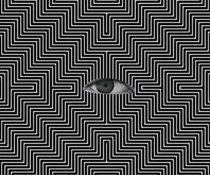 eyes, trip, and weed image