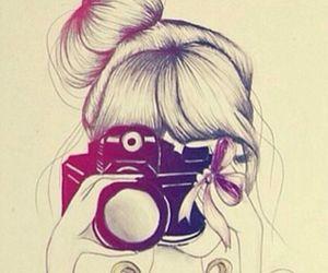 drawing, camera, and draw image