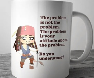 captain jack sparrow, cup, and jack sparrow image