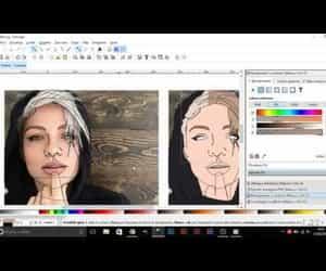 art, cartoon, and digital art image