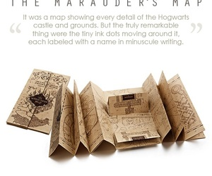 harry potter and the marauders map image