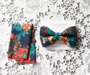 etsy, green bow tie, and groom bow tie image