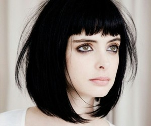krysten ritter, hair, and black hair image