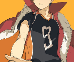 haikyuu and kageyama tobio image