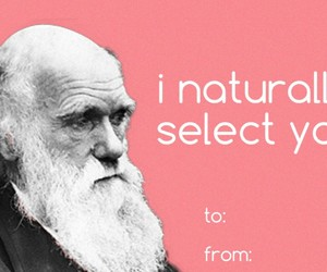 card, science, and darwin image
