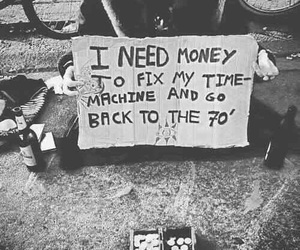 money, 70s, and grunge image
