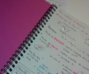 future, pink, and study image