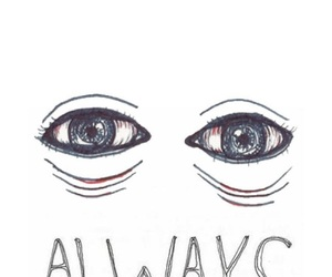 eyes, wallpaper, and always image