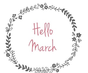 hello, march, and mars image