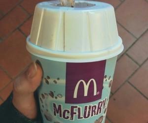ice cream, McDonald's, and tasty image