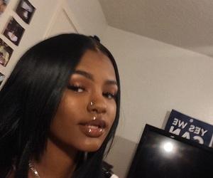 makeup, girl, and melanin image