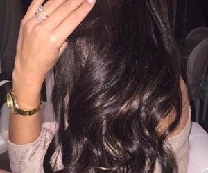 girl, hair, and nails image