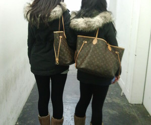 Louis Vuitton and ugg image