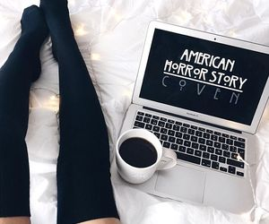 ahs, coffee, and coven image