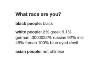 asian, black, and funny image